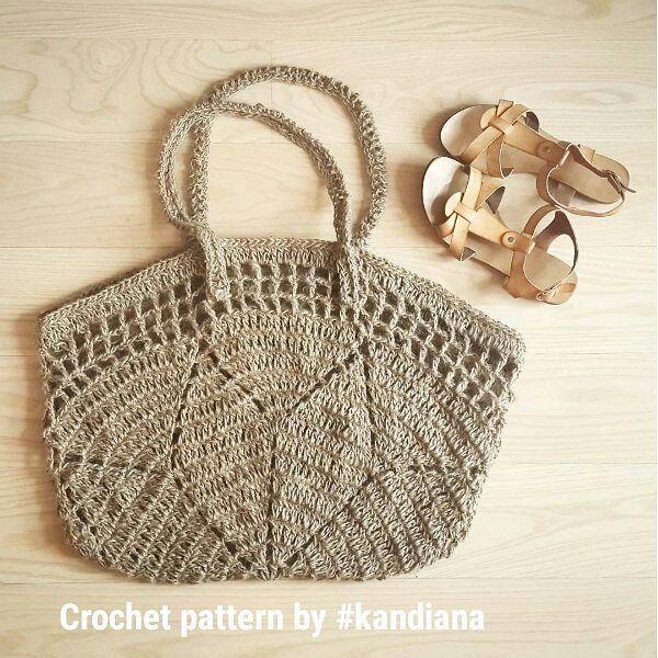 Let's dream a little about the summer? 🌴🌴🌴. This bag I actively used last summer. Link in bio  Прошлым летом брала с собой на пляж вот такую сумку 👜👙👓😊 #crochet #crochetbad #beachbag #crochetbeach #crochetbeachbag #beachtote #crochetbagtote #crochettote #ilovecrochet #crochetlove #crochetinspiration #crocheting #summercrochet #вяжутнетолькобабушки #вязанаясумка #сумкакрючком #пляжнаясумка #etsy #crochetetsy #etsyseller #kandianapattern