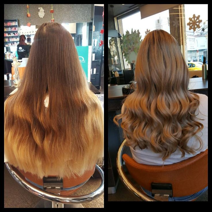 Balayage and highlights . Wave hair. See the difference.  #Loreal #haircolor #hairstyle #oiepikefalis