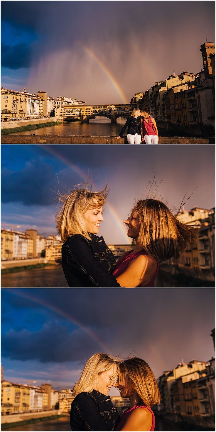 same sex photo session in Florence, Italy