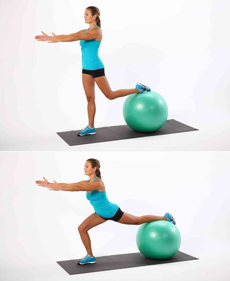 The Most Effective Ball Exercises Everyone Should Be Doing: Don't just walk by your stability ball!