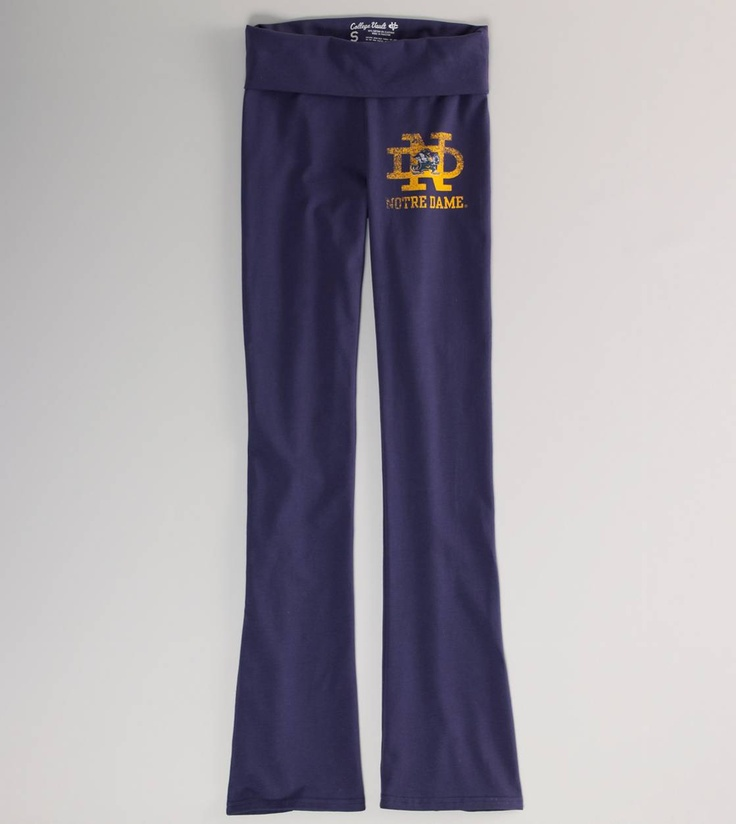 I Wouldn't Mind These :) Notre Dame Vintage Yoga Pant