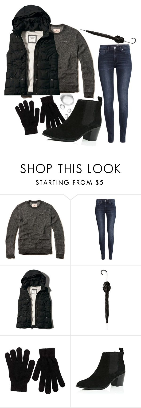 """""""now it's gonna be no rain for like half a year"""" by moria801 ❤ liked on Polyvore featuring H&M, Abercrombie & Fitch, Totes, Pieces and River Island"""