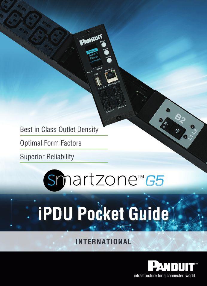 """Panduit iPDU Pocket Guide """"PUCB14--SA-UKE"""" 09.2017 https://www.panduit.com/content/dam/panduit/en/products/assets/p/p0/p08/p08g/p08g10m/media/D-PUCB14--SA-UKE-PockGuide.pdf"""