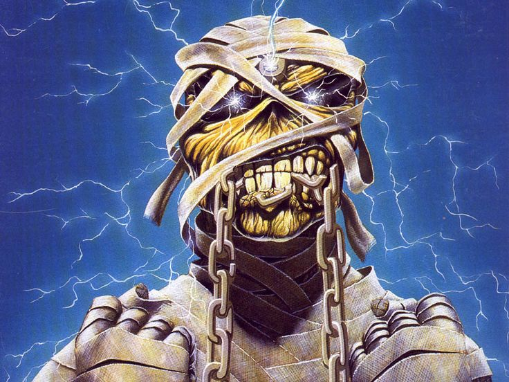 Iron Maiden - represented here by Eddie.  http://www.play.com/lists/top-100-artists.html