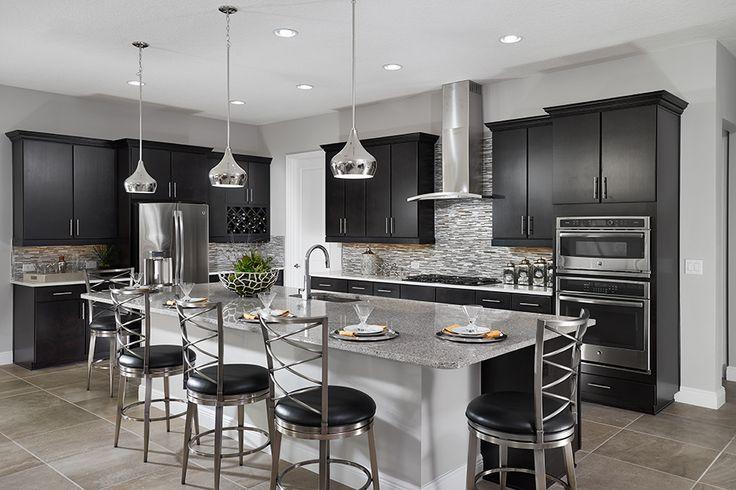 348 Best Kitchens Dark Cabinets Images On Pinterest