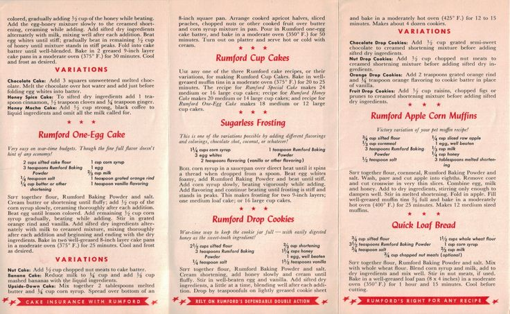 Rationing Recipes from WWII