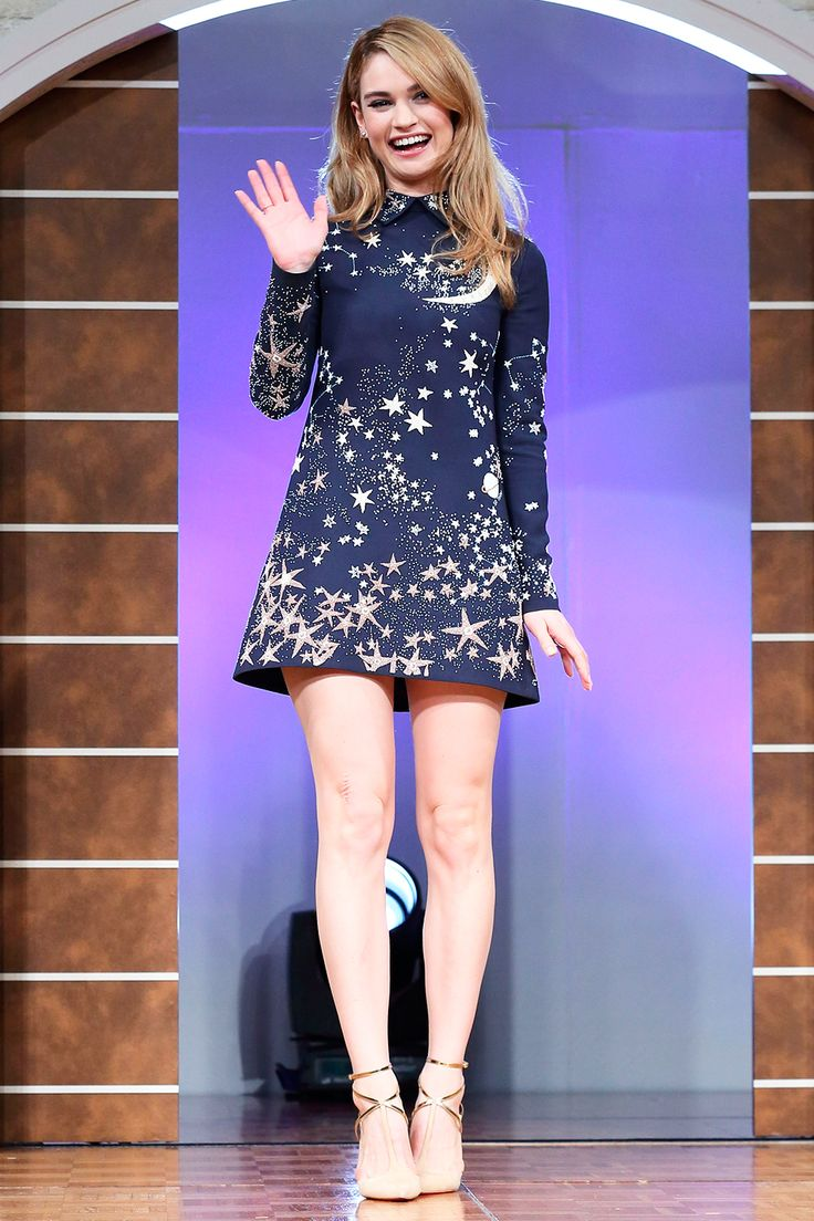 Lily James Best Dressed Celebrities This Week: 6 April | Harper's Bazaar