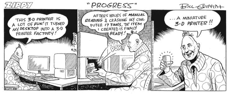Sorry, that Comic pinhead strip would
