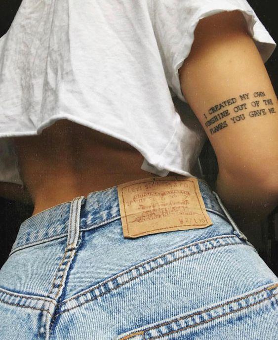 52 EYE-CATCHING KREATIVE TATTOO-IDEEN FÜR SIE – Seite 19 von 52 – i n k – #EYE… #Tattoos #Tattoosquotes