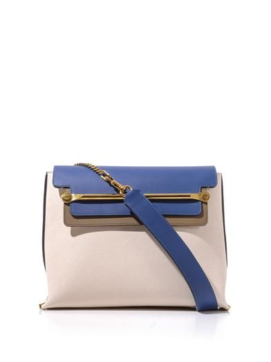 Chloe: Clare Leather, Bags Galore, Matchesfashion Com, Chain Strap Shoulder, Leather Shoulder Bags, Chloe Clare, Clare Chain Strap