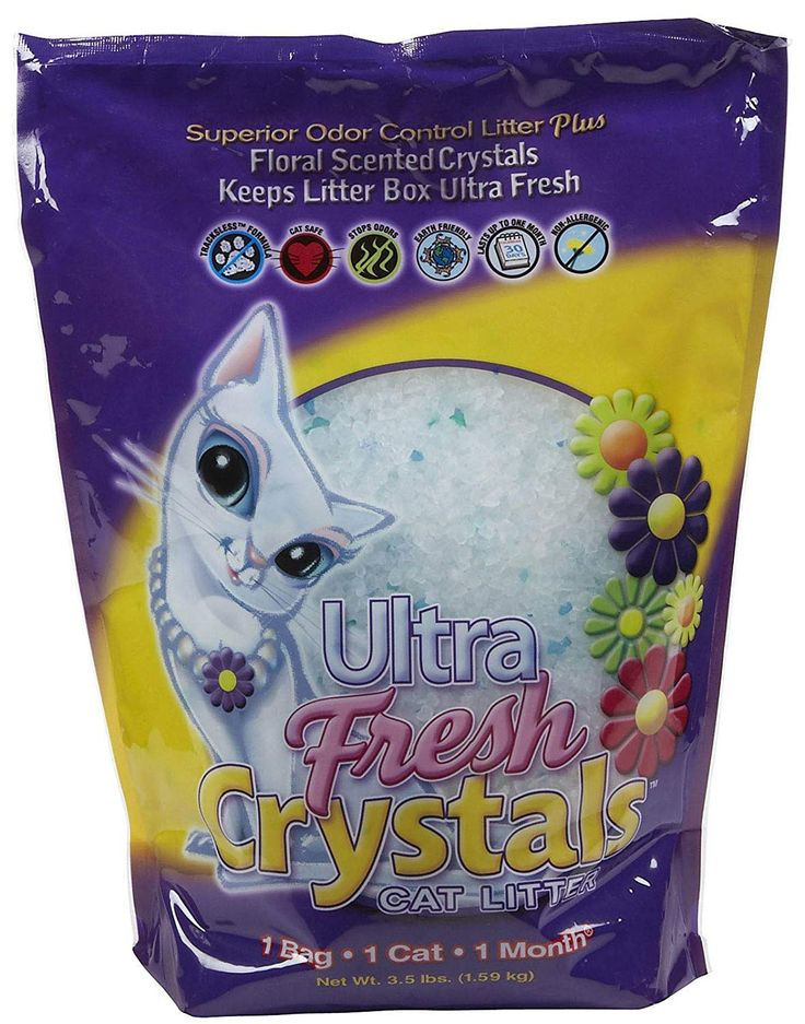 Ultra fresh crystals cat litter 35pound containers