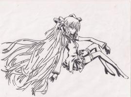 Hatsune Miku Drawing by ShadowBean16