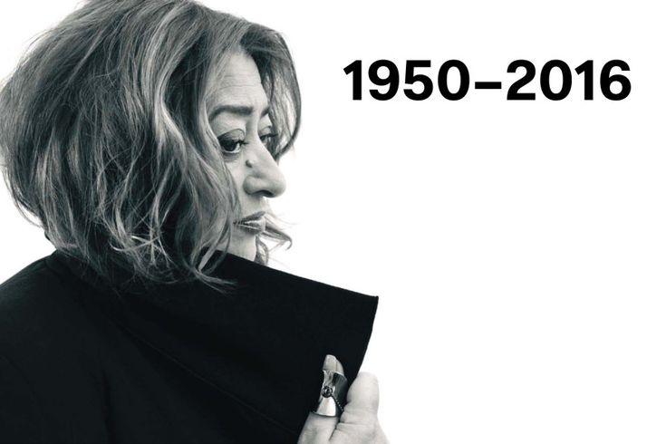 Zaha Hadid, 1950-2016   Architect Magazine   Architects, Zaha Hadid, Zaha Hadid Architects