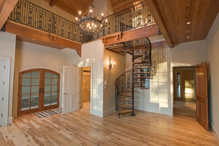 Beautiful wrought iron staircase