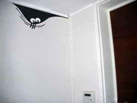 Mounstro en la pared