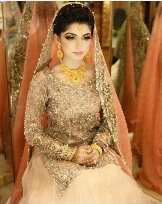 Pakistani bride makeup by Natasha Salon