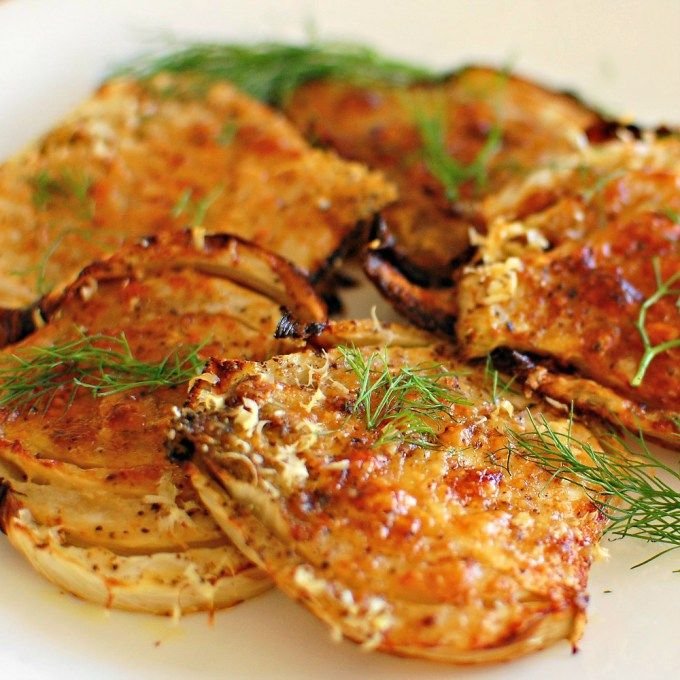 Roasted fennel with parmesan cheese. Easy to prepare and makes a nice crunchy side dish.   joeshealthymeals.com