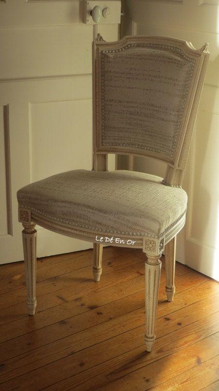 1000 id es propos de chaise louis xvi sur pinterest chaise blanche pas c - Chaises louis xvi pas cher ...