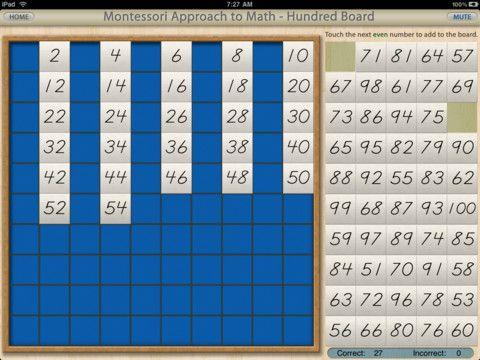 Estimulando meus filhos: Matemática Montessori - Crivo