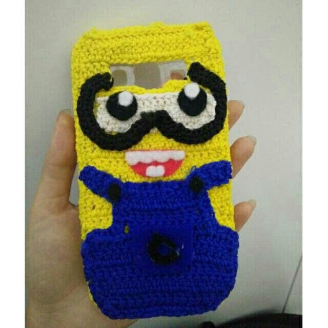 Saya menjual Silikon handphone rajut Minion seharga Rp45.000. Dapatkan produk ini hanya di Shopee! https://shopee.co.id/deriezzchaalexchanderia/236298465 #ShopeeID