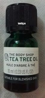 REVIEW: THE BODY SHOP TEA TREE OIL