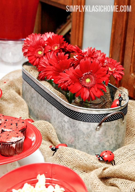 Ladybug Party Decorating Ideas                                                                                                                                                                                 Más
