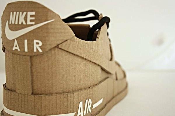 how to make cardboard jordans