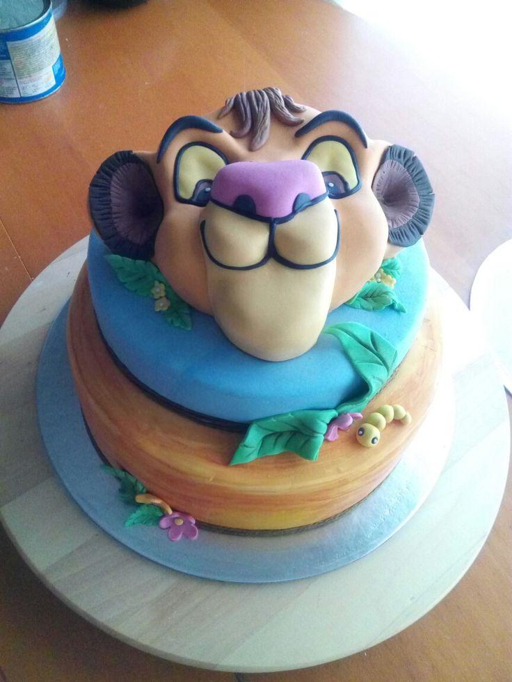 Lion King Cake - Tarta, torta El Rey León