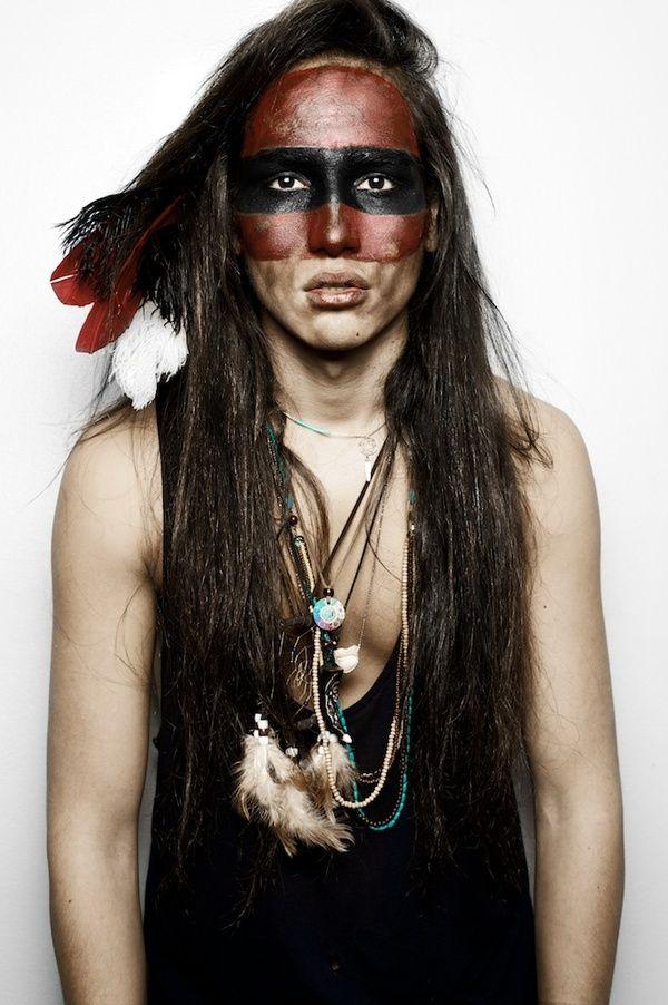 Native American Indian Model 24 best Native America...