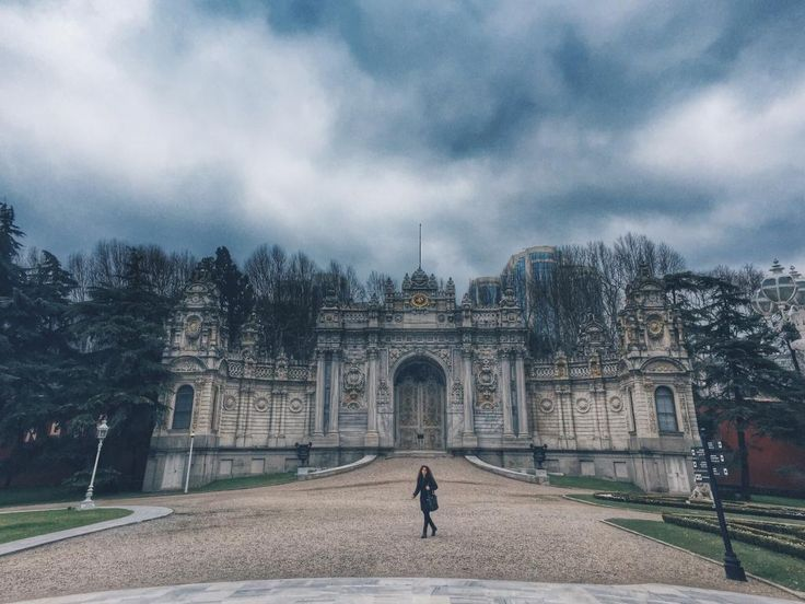 Dolmabahce Palace, Turkey- Romantic Garden View