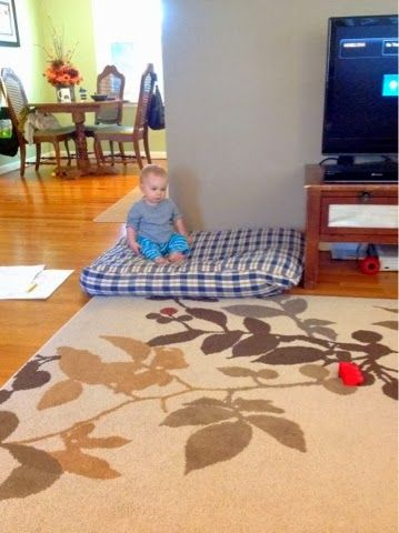 Easy Diy Floor Pillows : Knick Knacks and Nibbles: Super Simple DIY Floor Pillow for around USD20.00! No sew option too ...