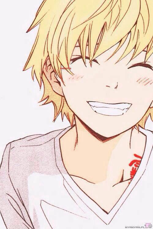 Anime Characters Smiling : Yukine noragami pinterest boys so cute