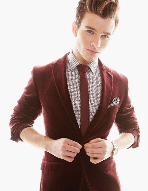 Chris Colfer...he is so adorable