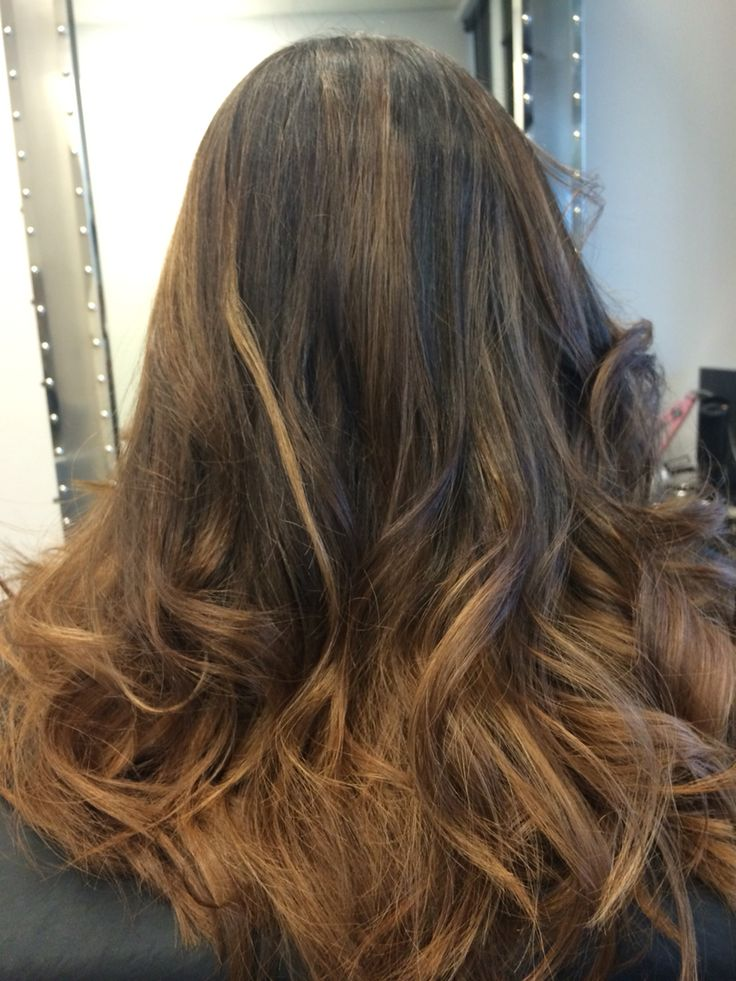 Pembroke Pines, FL Colored highlights, Long hair styles