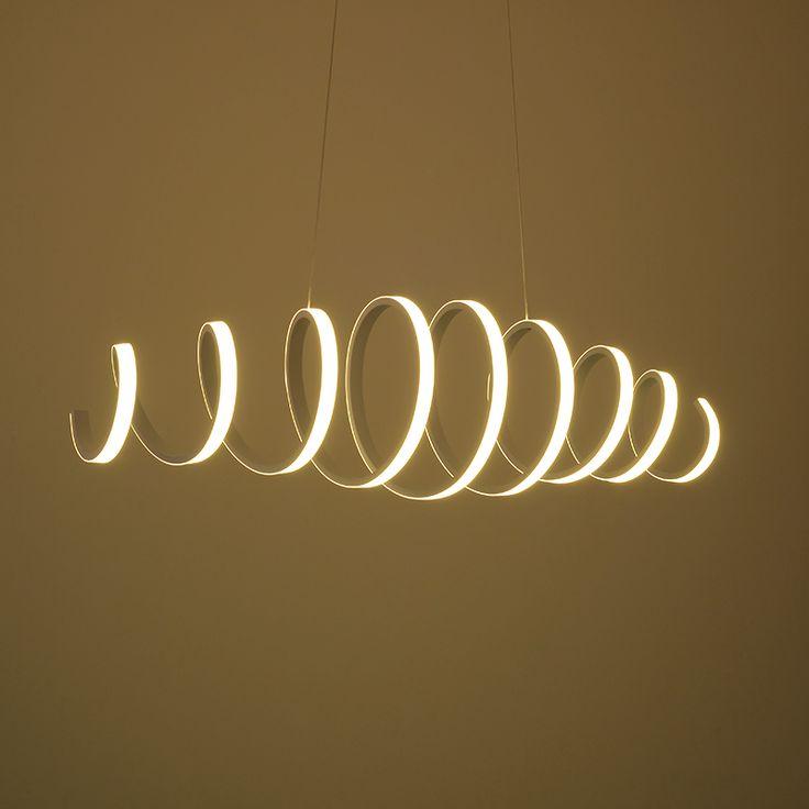Pas cher Moderne LED Blanc Cercle pendentif Lumières longueur extrend moderne LED Pendentif Eclairage luminaire suspendu de techo colgante, Acheter  Lampes Suspendues de qualité directement des fournisseurs de Chine:  lampe détails spécifications: la lampe longueur peut être étendre matériel: Acrylique + métal source de lumière: LED P