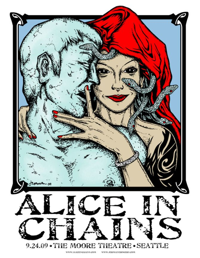 jermaine rogers artwork | Alice In Chains