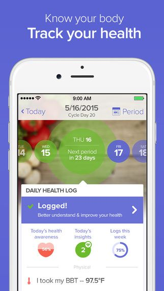 Glow – Ovulation Calculator and Fertility Monitoring by Glow   – progress