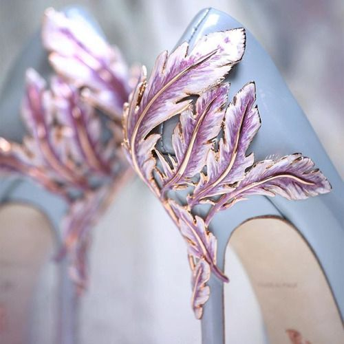notordinaryfashion: Ralph and Russo Haute Couture Spring 2016 ---Love these Heels!!!!