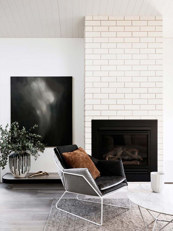 Best 25+ Subway tile fireplace ideas on Pinterest | White ...