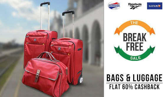 Paytm Cashback Offer – 69% Discount on Handbags, Travel Bags ...