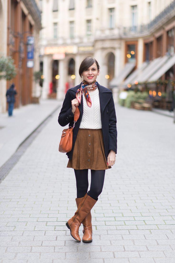 Fall style // Look aux couleurs marrons parfait pour l'automne par @modeandthecity