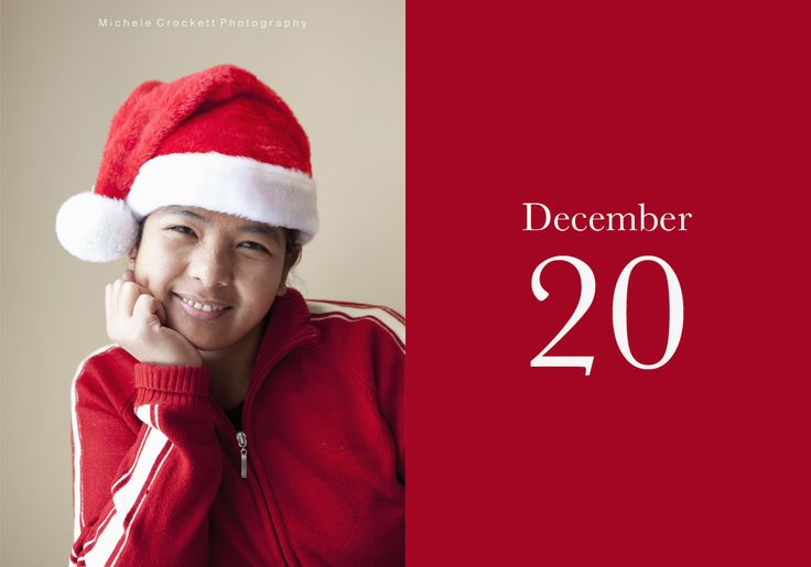 Dec 20- Marie.  www.michelecrockettphotography.com #christmsascountdown, #red, #naturallight, #christmasportraits