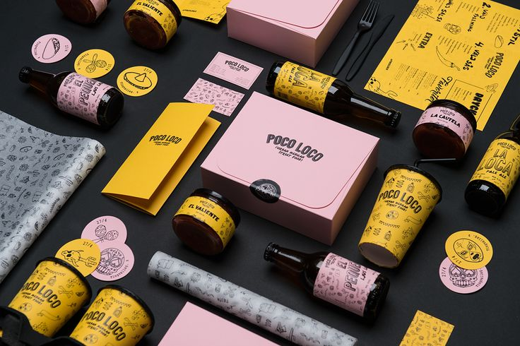 Poco Loco - Rebranding and packaging project on Behance