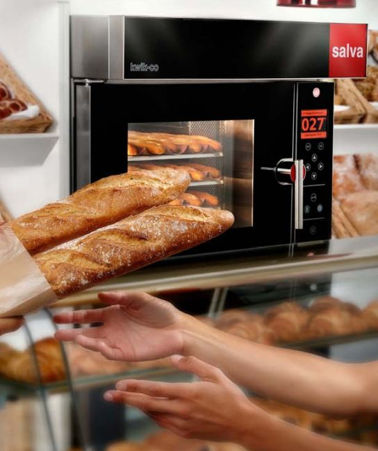 SALVA - OVEN FAMILY               This Oven product family marked a before and an after in SALVA´S products style, as they continue being a reference eight years later. In 2009 industrial ovens started to be more visible in a front stage such as restaurants,