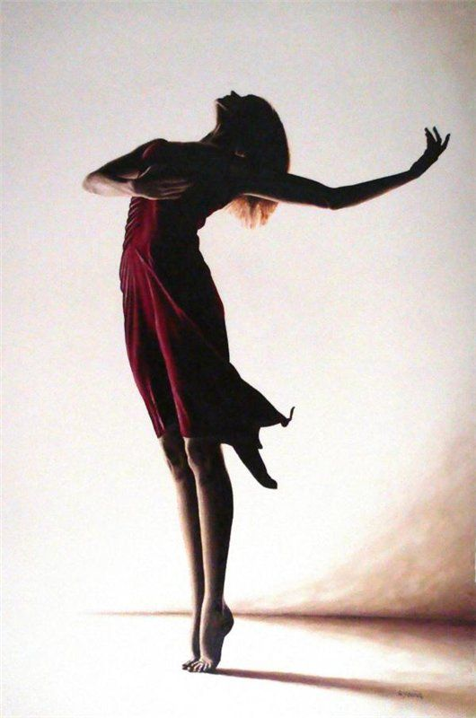 """""""Poise in Silhouette"""", Richard Young, 2008"""