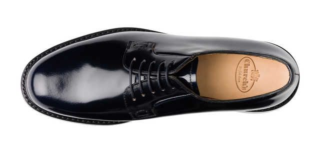 Shannon, black leather | Church's Footwear #black #oxfords #derby #shoes