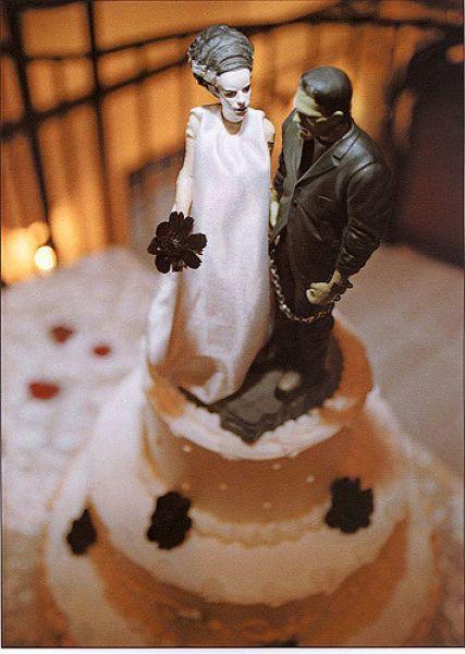 20 Wedding Cakes parfaits pour Halloween ! Image: 14