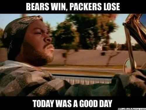 22 Reasons Why Being a Chicago Bears Fan is the Worst Love-Hate Relationship of Your Life | Hahahaha I love the references to the Packers!