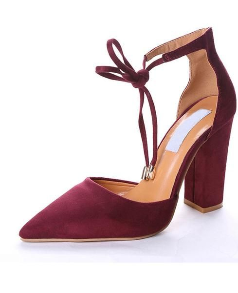 77735cfdc1 4 Colour Sexy Retro Strappy High Heels in 2019 |