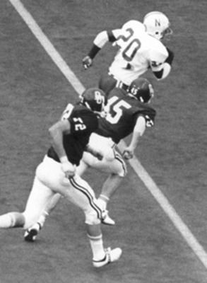 Johnny Rodgers -WR...first Husker to win the Heisman ...
